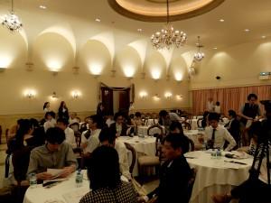 発表会前の小ホール