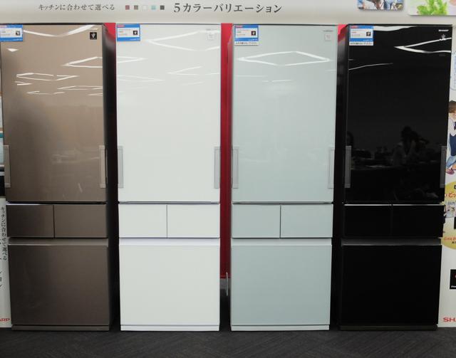 シャープ、幅60cm冷蔵庫を強化。スリム「メガフリーザー」 SJ ...